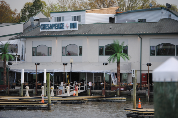 The Chesapeake Inn is one of Chesapeake City's award-winning restaurants.