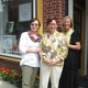 From left Ki Crittenden Carol Mangano and Kimie Ranken are co-owners of The Gallery at 122 Main in Elkton