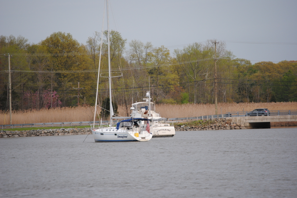 Because of its proximity to the water, Chesapeake City is a natural spot for recreational activities.