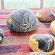 Pet rocks by Jeanne Lint.