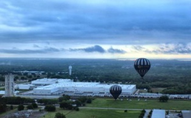 Breathtaking views, courtesy Orlando Balloon Rides, are a must see on your next trip!