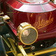Close-up of a Stanley Steamer.