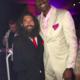 Joe with NBA legend John Salley