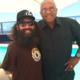 Joe with NFL legend Tommie Smith
