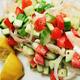 Greek Cucumber and Tomato Salad - Jul 30 2015 0130PM