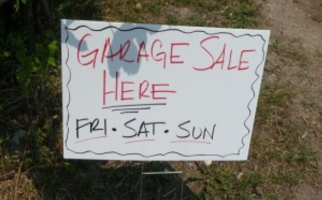 Garage Sale Here