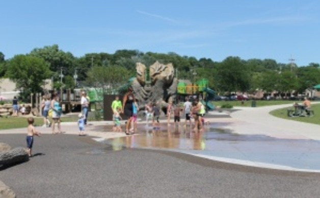 Splash Pad Playground