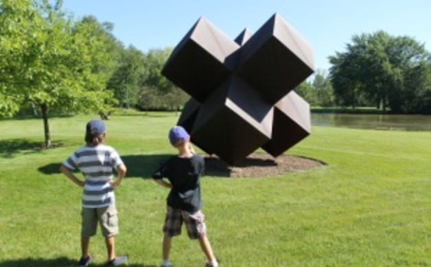 Lynden Sculpture Garden Wisconsin Parent