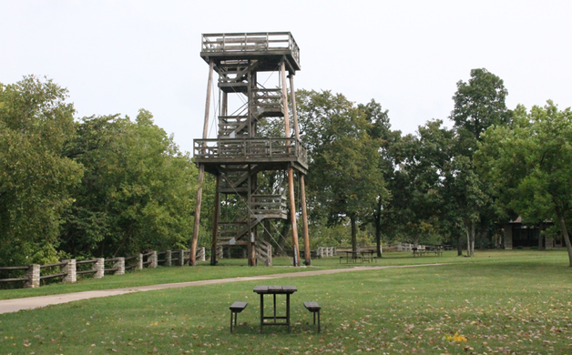 High Cliff State Park Ovservation Tower
