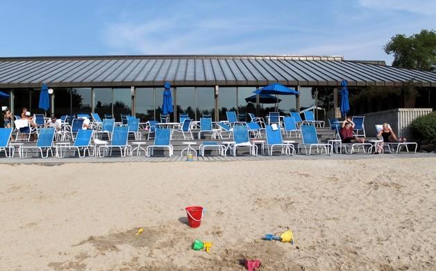 Beach at Sports Core