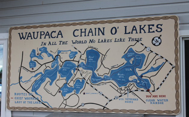 Chain O Lakes Sign