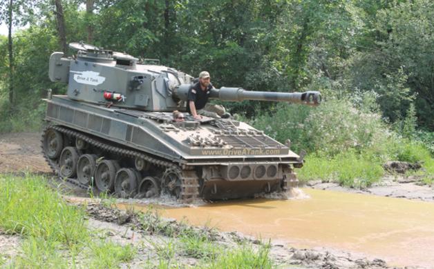 Amanda Driving Tank