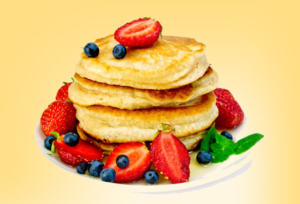 Medium pancakes 20with 20fruit