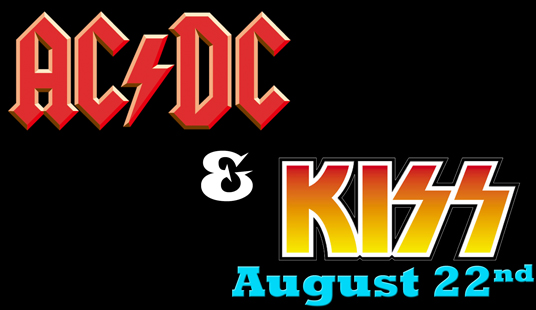 August 22 acdc and kiss