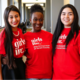 2015 Girls Inc. of Tarrant County National Scholars  Sonia Garcia, Chloe Willis and Alexis Torres Each Received $20,000. Photo courtesy of Julien and Lambert Photographic Services