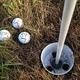 The three balls closest to the hole! Photos by Bruce Hilliard, brucehilliard.com
