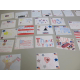 Some of the cards made during the Project 351 card making event