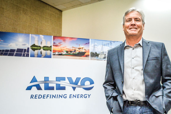 Alevo Executive VP, Scott Schotter