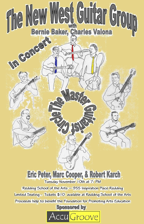 Nw 20guitar 20concert 20poster