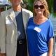 Col. John D. Counselman, Jr. poses with daughter Stacy Myrose, co-president of Robinson PTSA