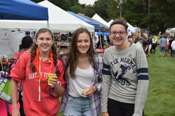 Melanie, Brooke and Erin had a great time at the 2nd Annual Tewksbury Fall Harvest Fair.
