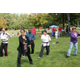 Jeanne Donnelly leads a tai chi demonstration. Donnelly teaches tai chi at Northeastern Tae Kwon Do Academy and the Bellingham Senior Center.