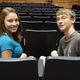Shaler Area High School seniors Adam Bleil and Tori Lorenz