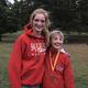 St. Ursula eighth-graders Annessa Donato and Hannah Valenty