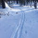 Tracks and trails make Crystal Lake a cross-country skiing paradise.