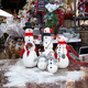 Styrofoam Snowmen in 3 Styles $14.98-$45.98 at Pottery World, 1006 White Rock Road, El Dorado Hills. 916-358-8788, potteryworld.com