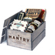 3-Month Subscription to Mantry 225 each box includes 6 full-sized artisan food products in a handmade wooden crate with product stories and recipes at Mantry mantrycom