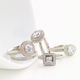 Anne Sportun Diamond Rings $1,200-4,500 at Talisman Collection, 4357 Town Center Boulevard, Suite 118, El Dorado Hills. 916-358-5683, talismancollection.com