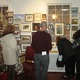 The Chadds Ford Gallery is packed with small paintings for the Christmas in Miniature show