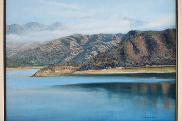 "Castaic Lake; 20""x24"""