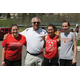 Both alumni and current students attend La Roche college's alumni soccer match.