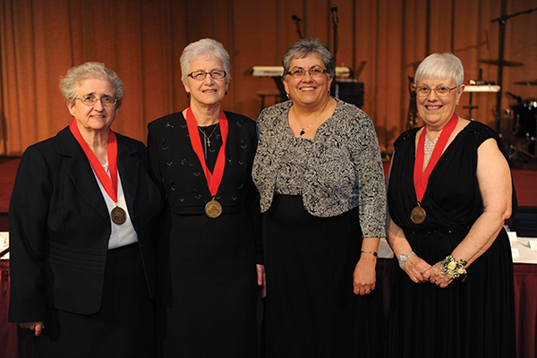 La Roche College awardees