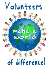 Medium volunteers make a world difference