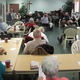The members of the West Grove seniors meet each month in the fellowship hall of the West Grove Presbyterian Church.