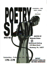 Medium poetryslamflyer
