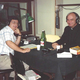The first radio call in show ever permitted by The Vatican. September 1988. Skip's guest was Cardinal John Foley, the president of the papal commission for social communication. The broadcast was from the studios of Vatican Radio/September 1988.