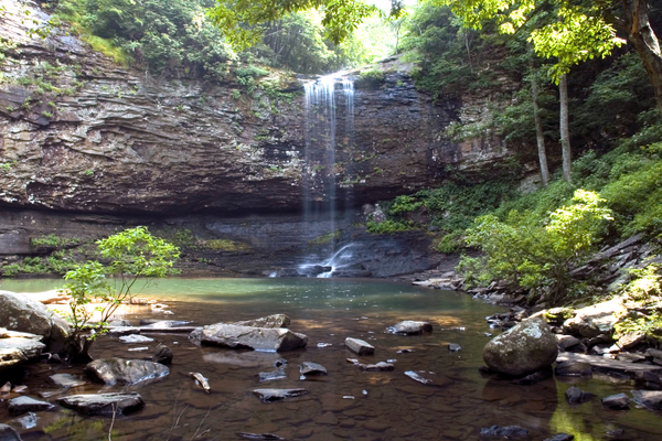 Cloudland Canyon waterfall. Photo courtesy of Georgia Department of Natural Resources.