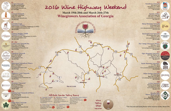 2016 wine highway weekend