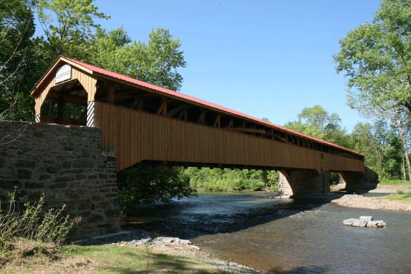 Pomeroy Academia Bridge, photo courtesy by: Juniata County Historical Society