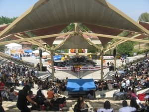 Rotary Amphitheater at Woodward Park - Fresno CA