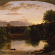 'Sunset, View on the Catskill' (1833) by Thomas Cole.