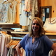 Apricot Lane Boutique-Maple Grove Owner Kristine Haas Photo by Wendy Erlien
