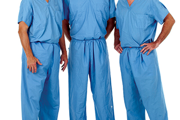 L-R: Sports medicine surgeons Dr. Mark Langhans, Dr. Christopher Emond, Dr. Brian Jewell