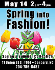Viva Boutiques Spring Into Fashion at the Festival - start May 14 2016 0200PM