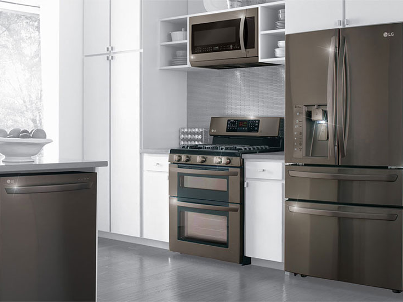 Merveilleux Appliances: Slate Vs. Stainless Steel