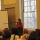 Rebecca Harris, Chatham U, speaking